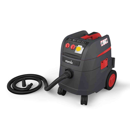 Starmix I-Pulse 110v H-Class Vacuum including Hose and Tool Adapter