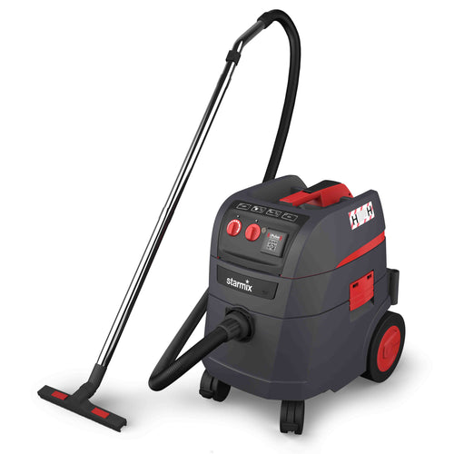 Starmix I-Pulse 240v H-Class Vacuum including wand Kit