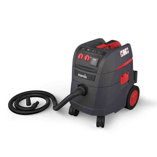 Starmix I-Pulse 240v H-Class Vacuum including Hose and Tool Adapter