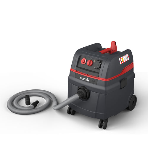 Starmix Pulse 240v M-Class Vacuum including Hose and Tool Adapter