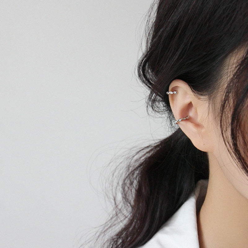 minimalist ear cuffs Clip on Earrings Non Piercing Helix Cartilage Earrings