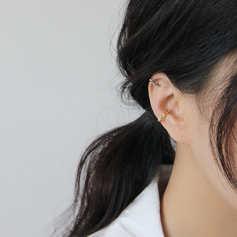 ear cuffs sterling silver gold plated