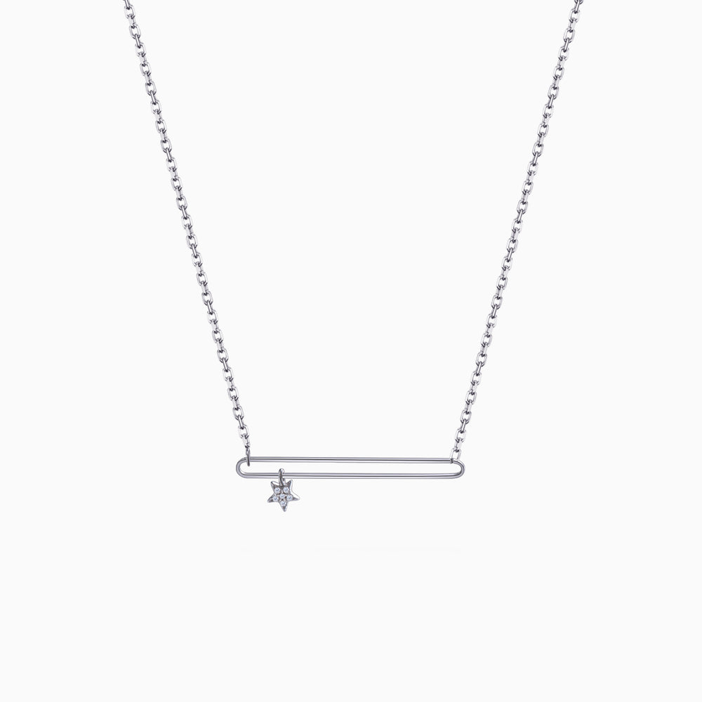 Parallel Bar Necklace