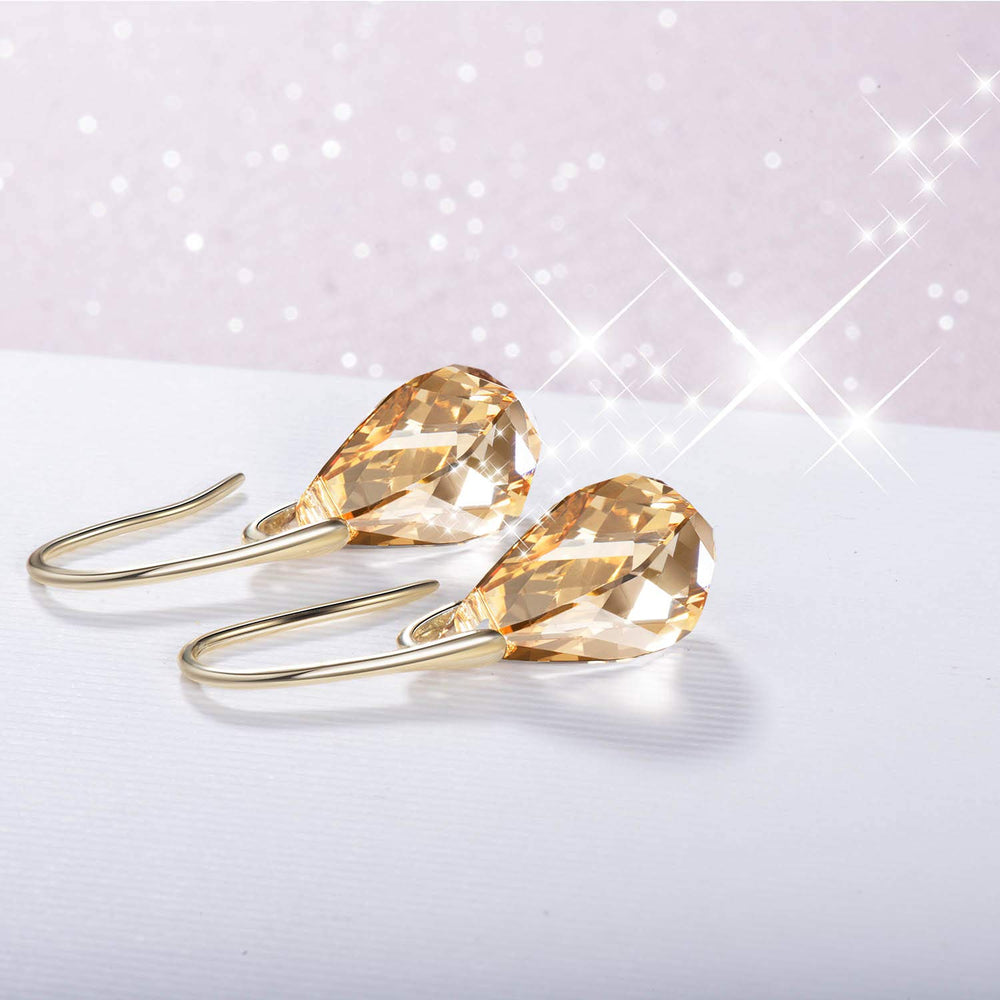 dainty swarovski earrings for girls