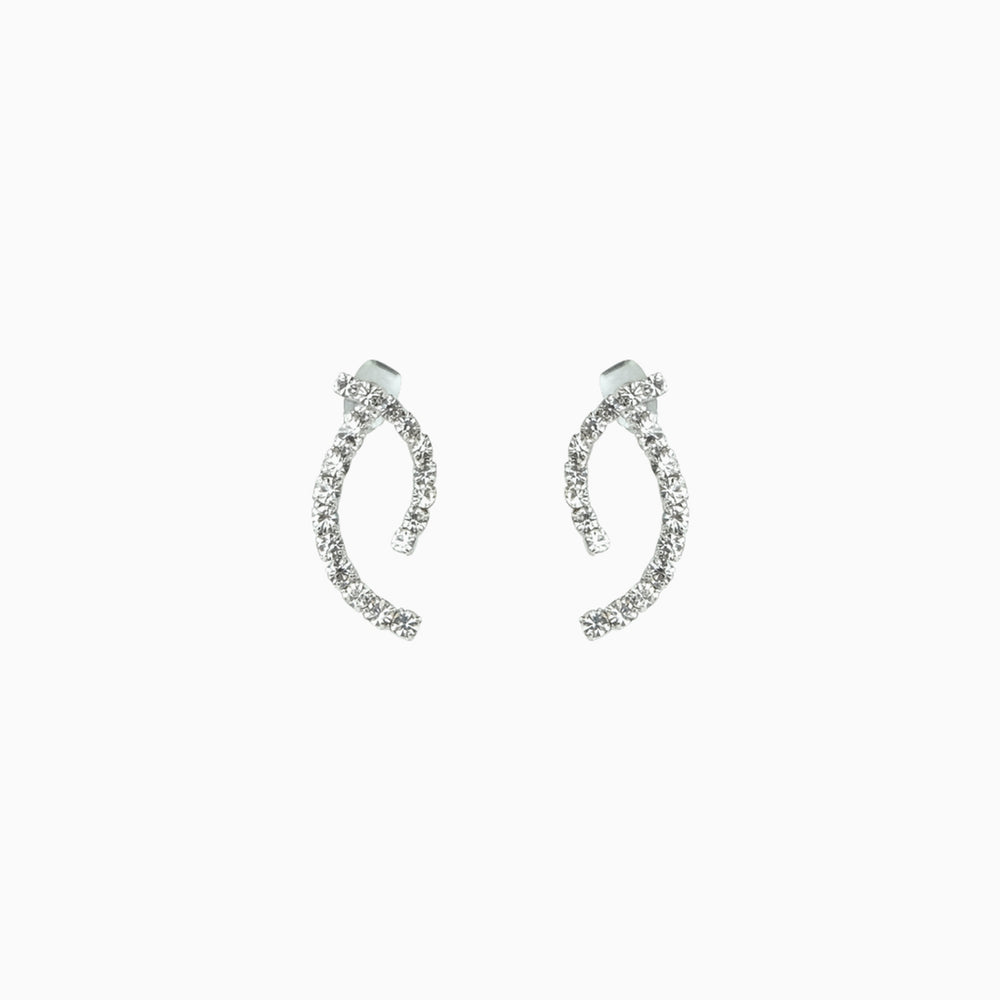 Cubic Zirconia Ear Jacket Earrings for women