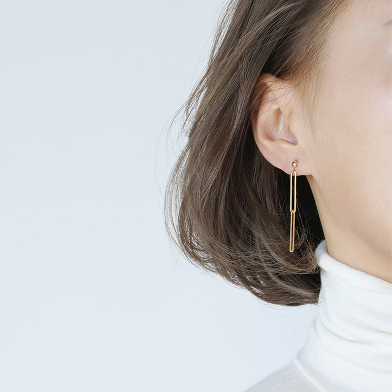Minimalist Chain Dangle Earrings