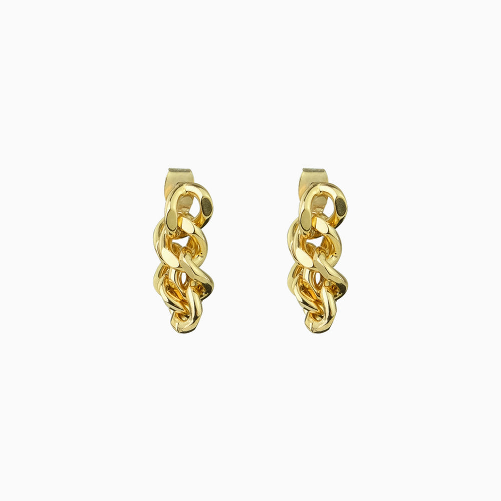 Thick Chain Earrings for women