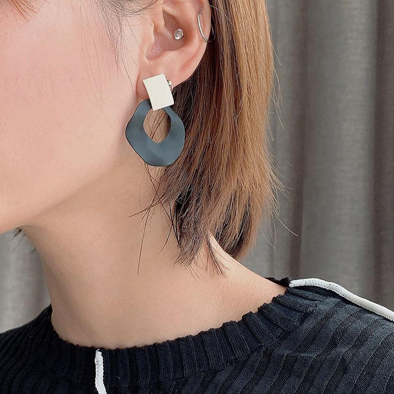 Irregular Circle Earrings cocktail earrings