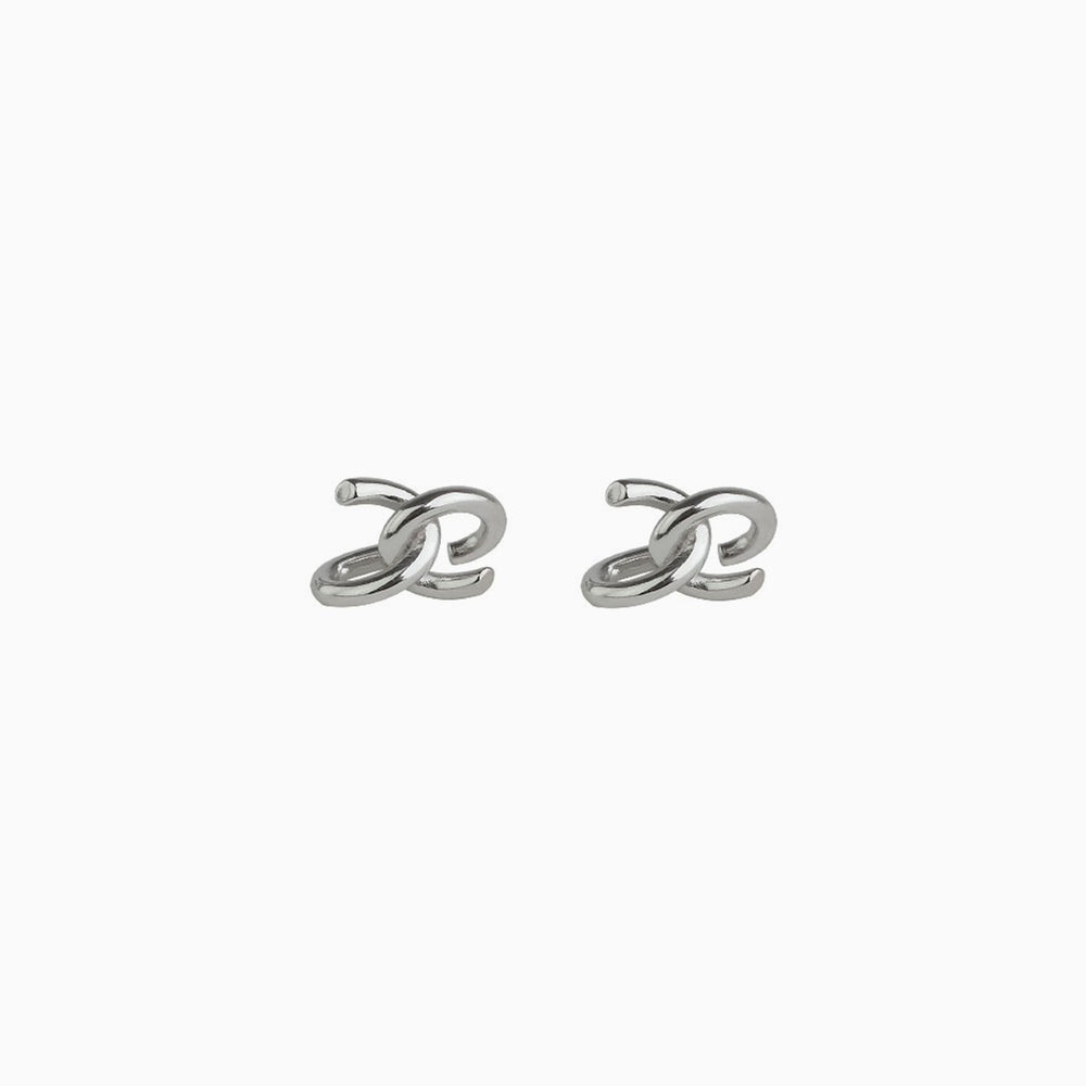 Knot Ear Cuffs silver Non piercing earrings