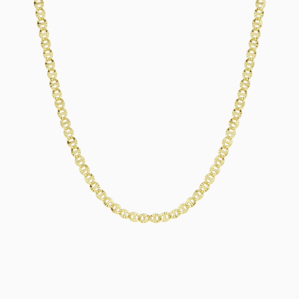 Thick Vintage Chain Choker gold