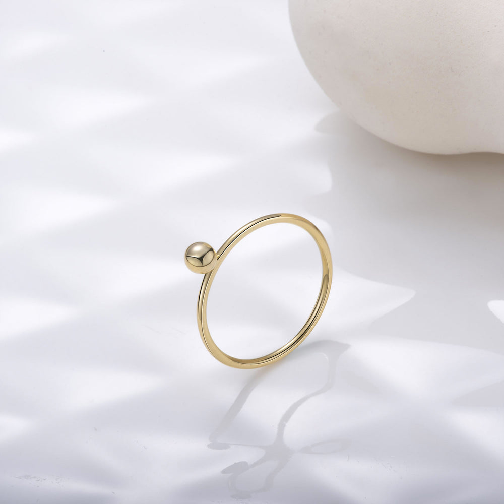dainty Tiny Ball Ring gift ideas