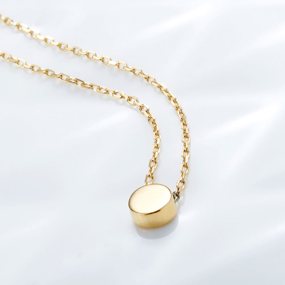 cute minimalist Dot Necklace