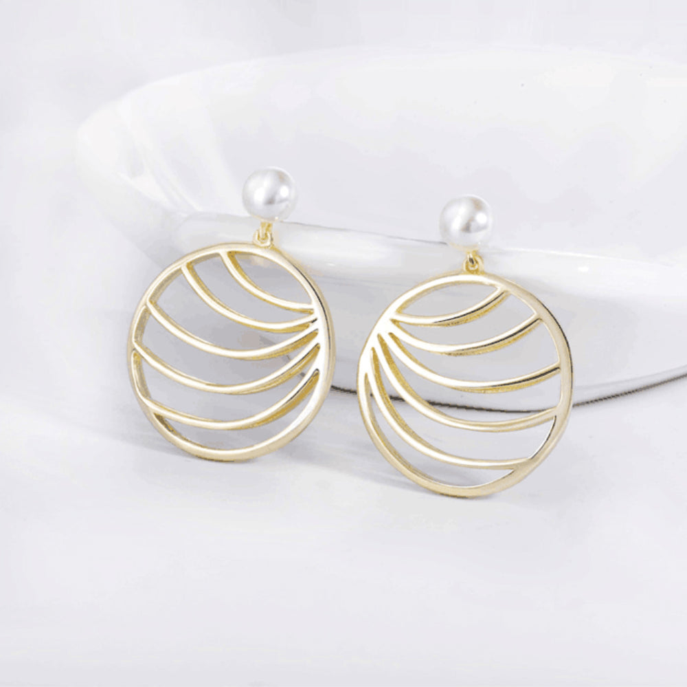 palm leaf drop earrings gift ideas