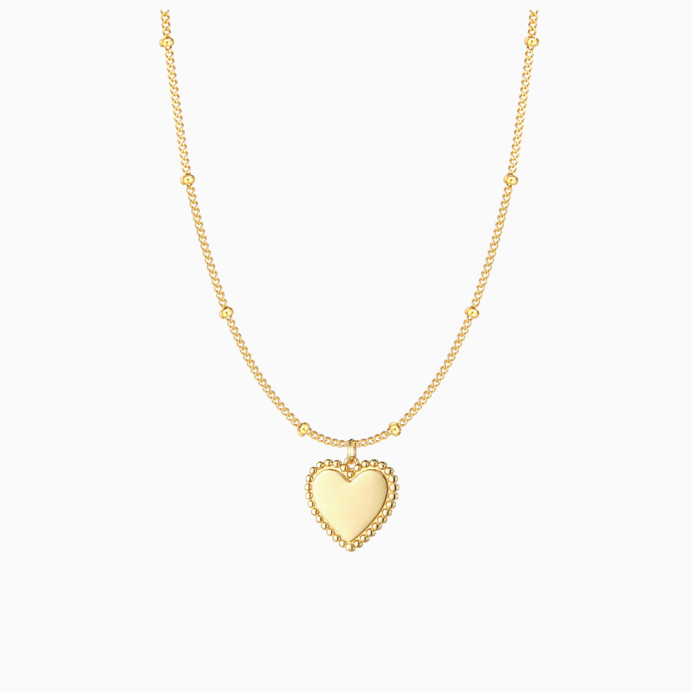 [Presale]Flat Heart Choker Necklace