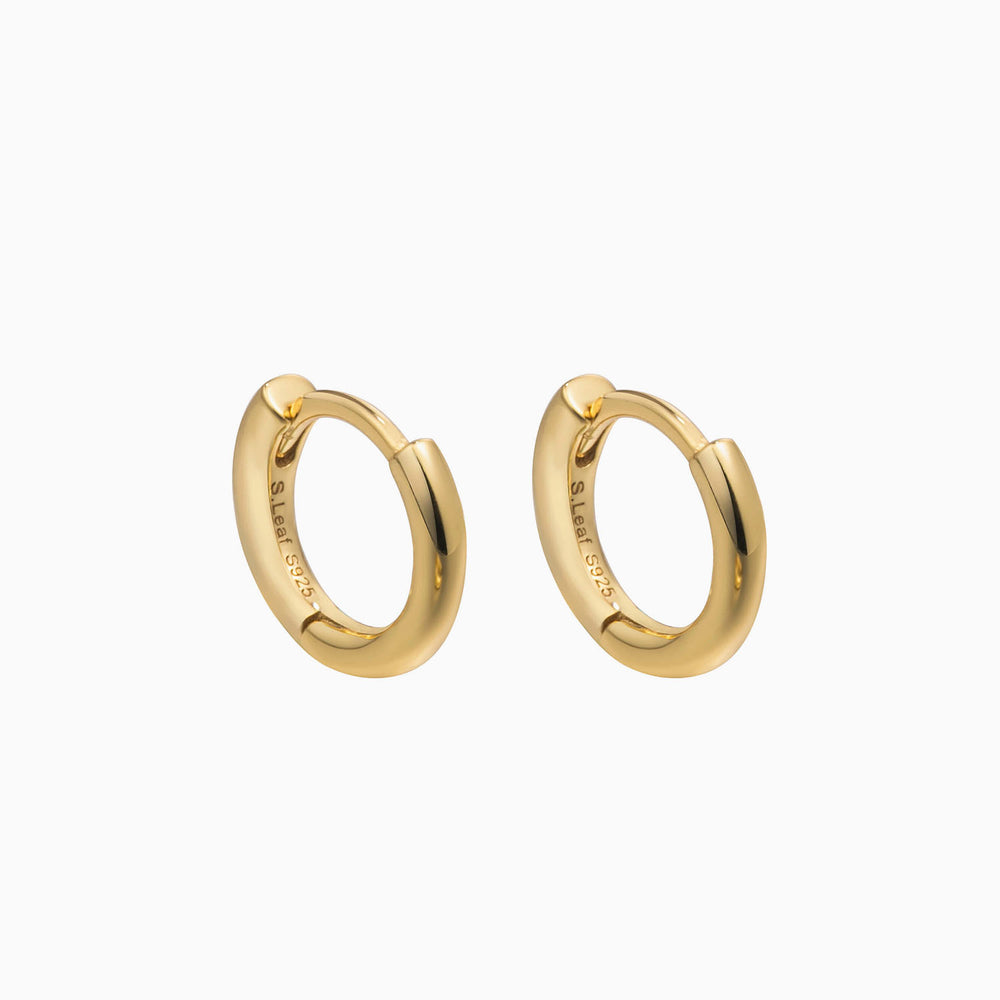 small gold hoop earrings for women