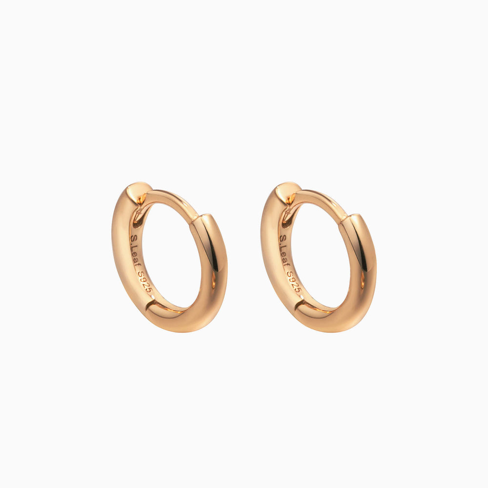 rose gold hoop earrings for women girls