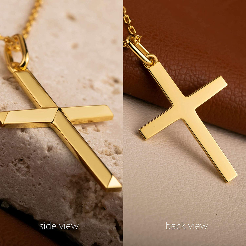 religious jewelry cross necklace for women men