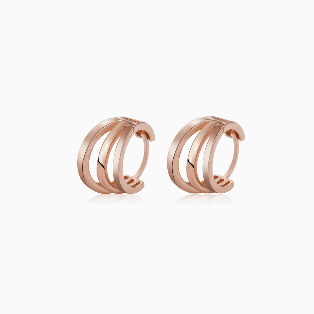 Triple Hoop Earrings