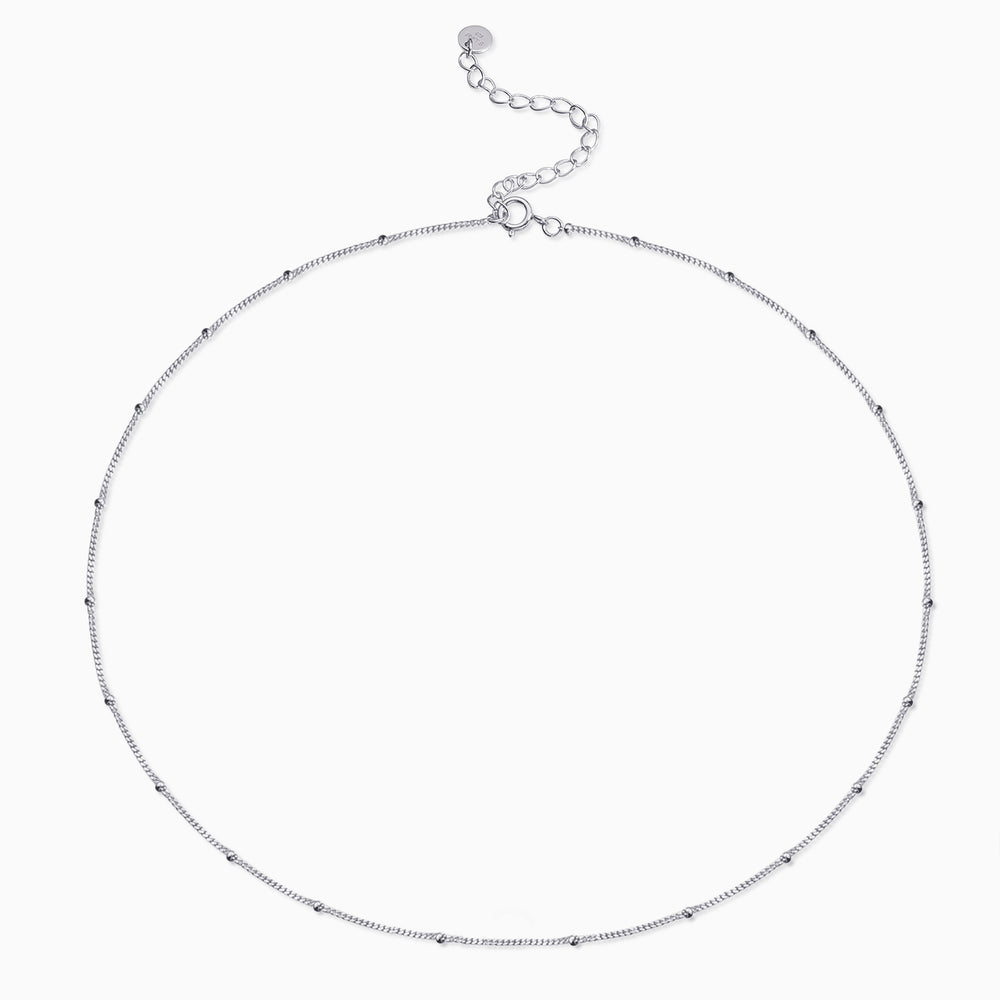 Satellite Chain Choker silver