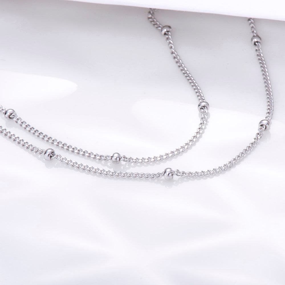 Satellite Chain Choker Necklace
