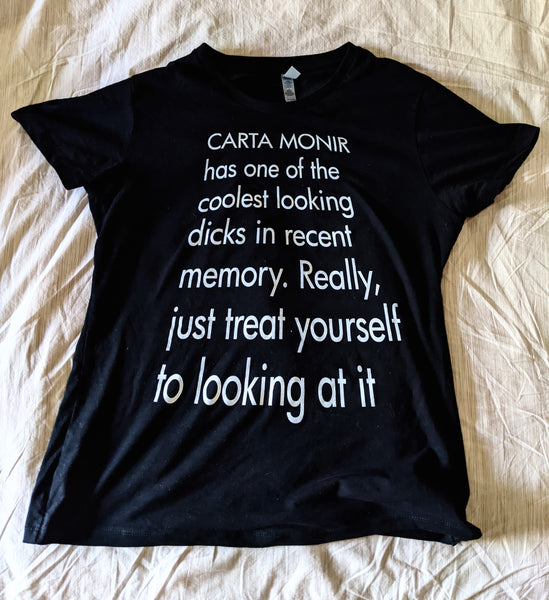 Carta Monir's Dick Fanclub Shirt