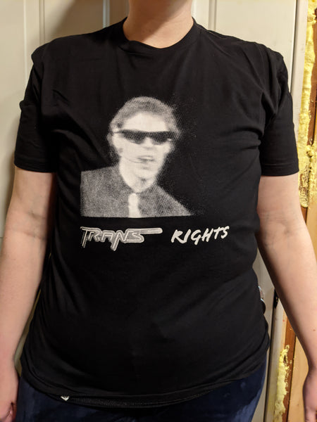 "N*il Y*ung ""TRANS"" rights shirt"