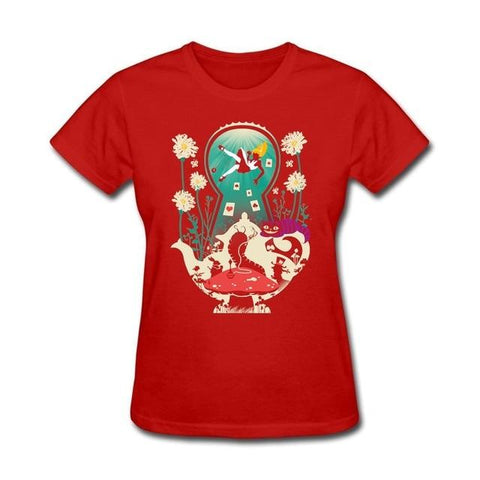 Image of Alice in Wonderland Tea Shirt