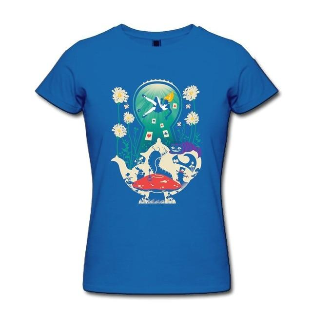 Alice in Wonderland Tea Shirt