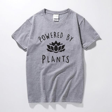 Image of The Powered by Plants Tea Shirt