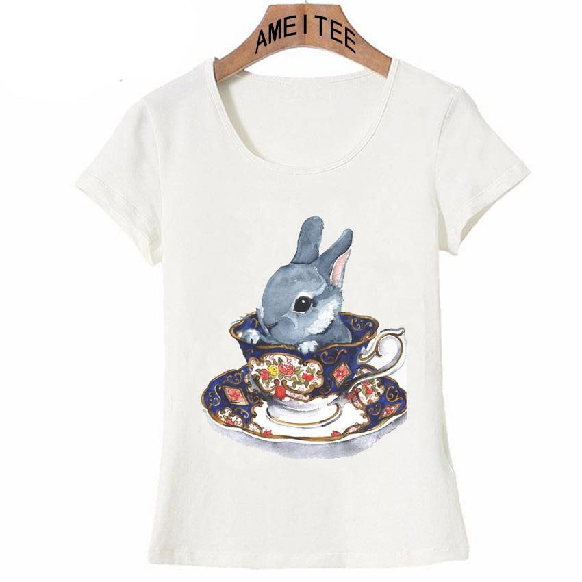The Cute Bunny Tea Shirt
