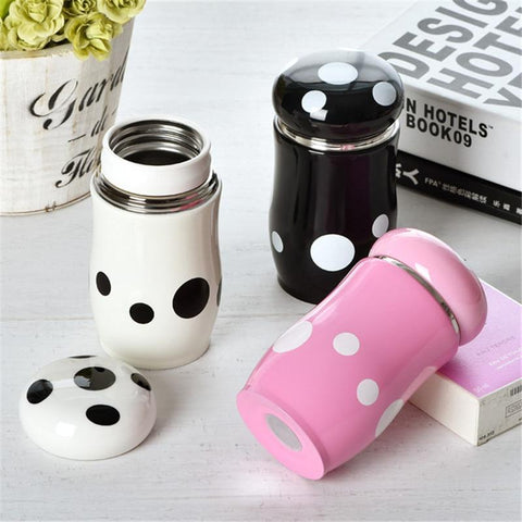 Mini Mushroom Portable Travel Mug