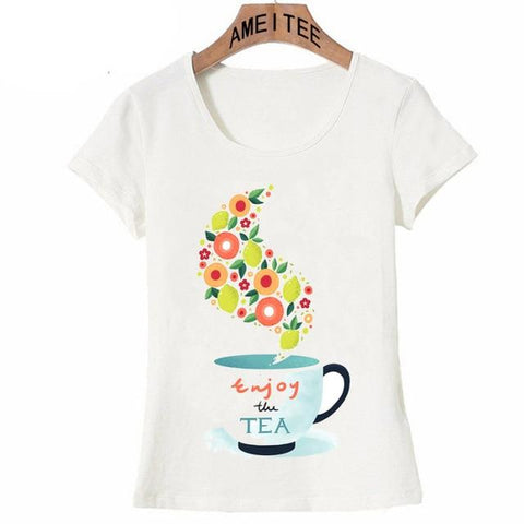 Image of The Enjoy Tea Shirt