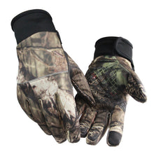 Load image into Gallery viewer, Autumn Winter Outdoor Bionic Camouflage Full Gloves Hunting Leaf Camouflage Gloves Mitten Two Fingers Anti-slip Riding Gloves