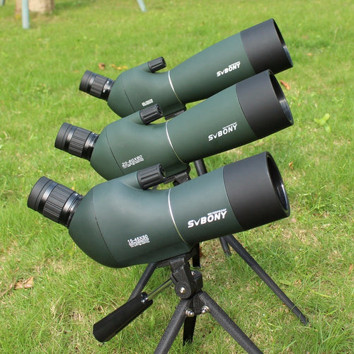 Spotting Scope SV28 Telescope Zoom 50/60/70mm Waterproof Birdwatch Hunting Monocular & Universal Phone Adapter Mount SVbonyF9308