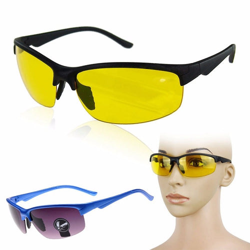 Outdoor Sports Hunting Safety Explosion-proof Night Visions Glasses Tactical High Definition Driving Lens For Men Goggles