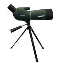 Load image into Gallery viewer, SVBONY SV29 Spotting Scope 23mm/15mm Eyepiece 20-60x60 Waterproof Zoom Porro Monocular Birdwatch Hunting Archery Telescope F9309