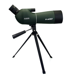 SVBONY SV29 Spotting Scope 23mm/15mm Eyepiece 20-60x60 Waterproof Zoom Porro Monocular Birdwatch Hunting Archery Telescope F9309
