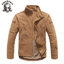 Load image into Gallery viewer, Hot Winter Military Tactical Outdoor Soft Shell Fleece Warm Jacket Men Sportswear Army Hunting Sport