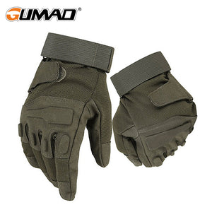 Tactical Outdoor Military Paintball Airsoft Shooting Sport Hunting Climbing Cycling Blackhawk Combat Army Full Finger Gloves