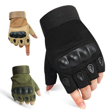 Load image into Gallery viewer, Half Finger Tactical Gloves Military Airsoft Hunting Assault Combat Tactical Gloves