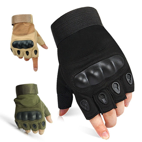 Half Finger Tactical Gloves Military Airsoft Hunting Assault Combat Tactical Gloves