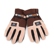 Load image into Gallery viewer, 1 pair Outdoor Autumn Winter Men Hunting Gloves Warm Fleece Male Sports Gloves Full Finger Gloves Breathable Cycling Gloves