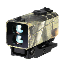 Load image into Gallery viewer, 700m Mini Laser Rangefinder Tactical Riflescope Mounted Range Finder Outdoor Hunting Shooting Distance Speed Measurer