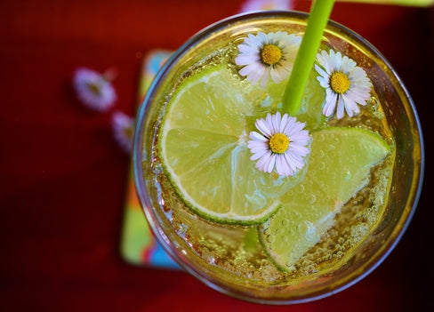 Fizzy Raspberry Blossom Mint Limeade To Quench Your Thirst