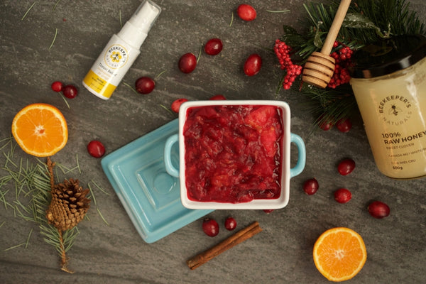 Beegan Cranberry Sauce: Your New Holiday Staple!