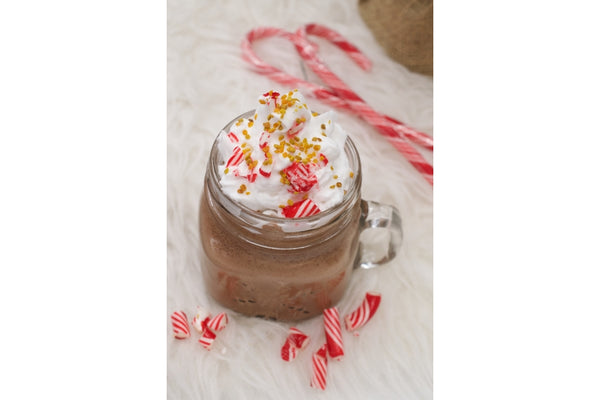 All the Feels: Beegan Peppermint Hot Chocolate for Those Cozy Winter Nights