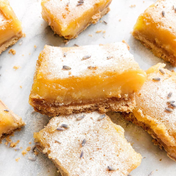 Make Your Mom's Day Extra Special with These Lavender Lemon Bars