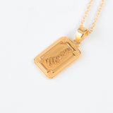 Mama Necklace (Gold and Silver)