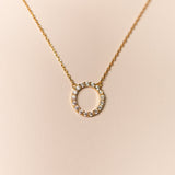 Eternity Necklace (Gold and Silver)