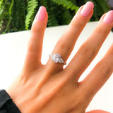 Vintage 1.5 Carat Oval Cut Ring